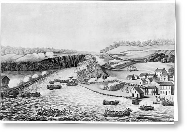 War Of 1812 Queenston Greeting Card by Granger