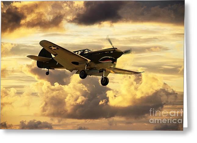 Warhawk  Greeting Card by J Biggadike