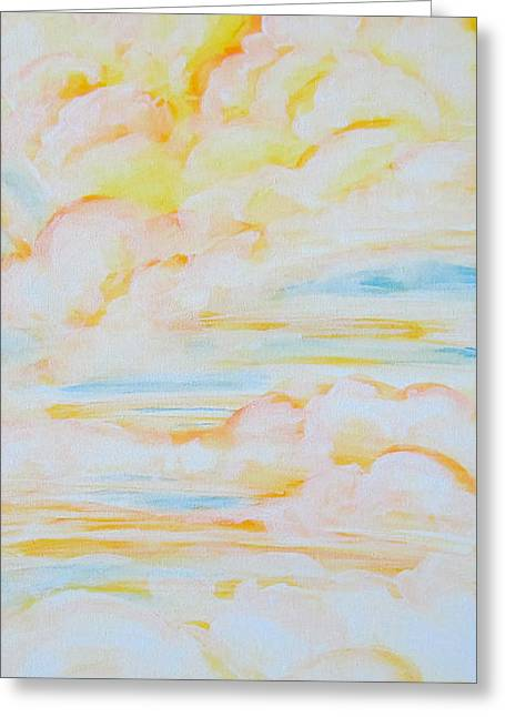 Warm Clouds Greeting Card
