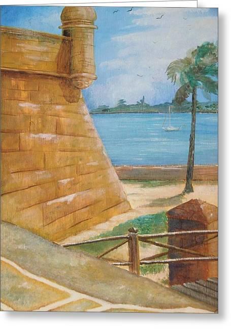Warm Days In St. Augustine Greeting Card