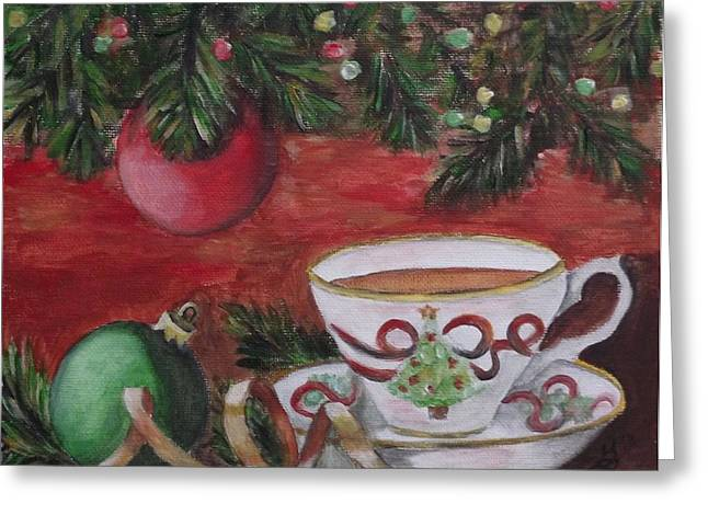 Warm Wishes Greeting Card by Kim Selig