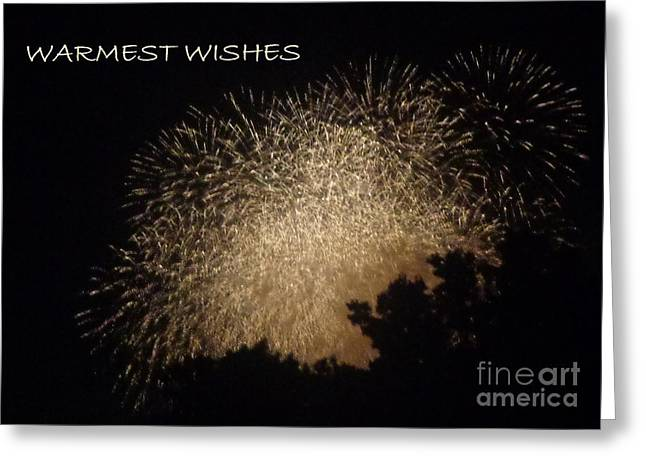 Greeting Card featuring the photograph Warmet Wishes by Christina Verdgeline
