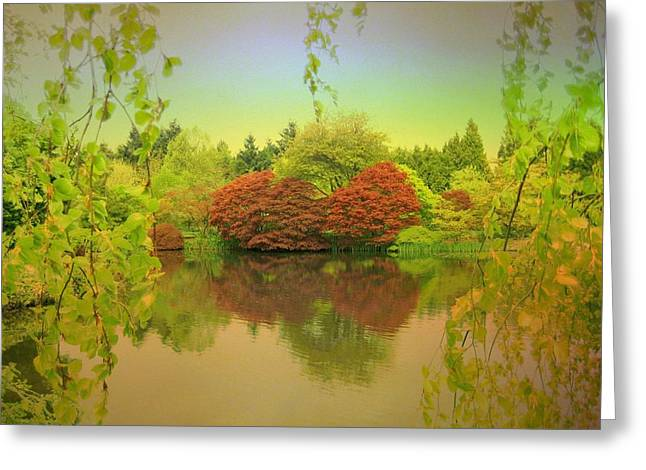 Warmth Of Spring Greeting Card by Shirley Sirois