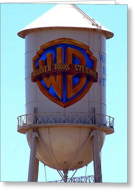 Warner Bros Studios Greeting Card