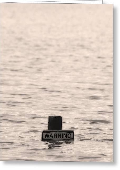 Warning Midwest Floods Greeting Card