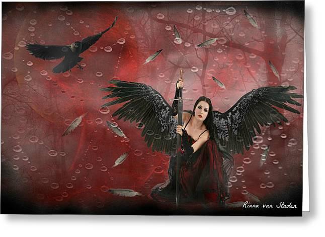 Warrior Angel  Greeting Card