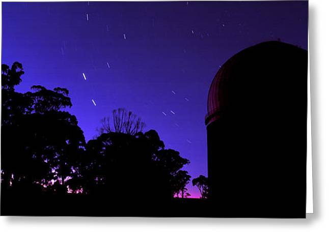 Warrumbungle Observatory At Night, New Greeting Card