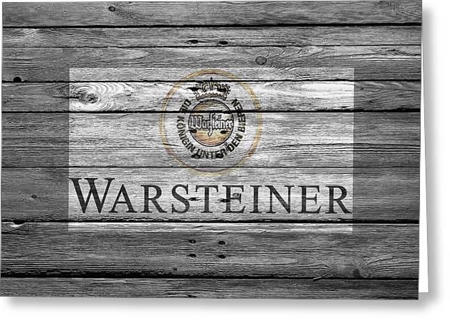 Warsteiner Greeting Card by Joe Hamilton