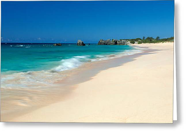 Warwick Long Bay Beach Bermuda Greeting Card by Panoramic Images