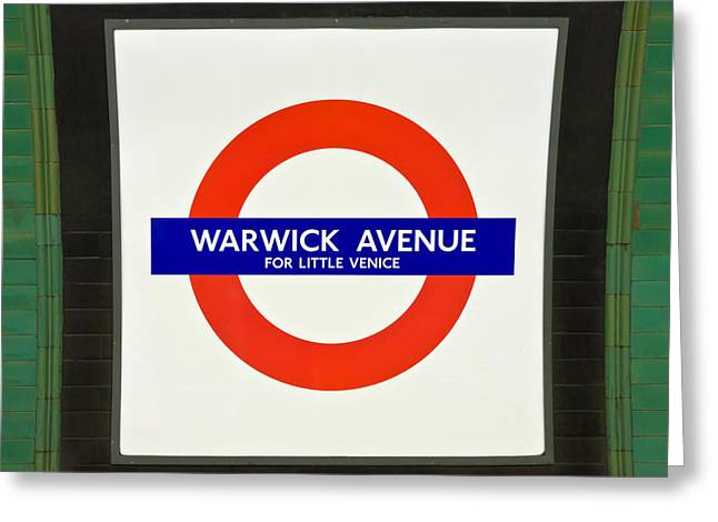 Greeting Card featuring the photograph Warwick Station by Keith Armstrong