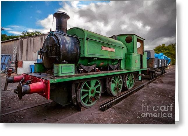 Warwickshire No 2047 Greeting Card by Adrian Evans