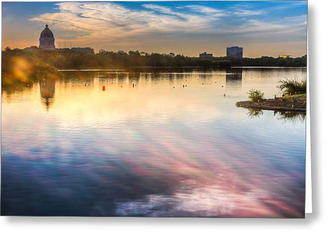 Wascana Greeting Card by Chris Halford