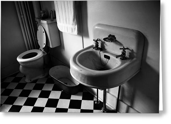 Wash Hands  Greeting Card by Jerry Cordeiro