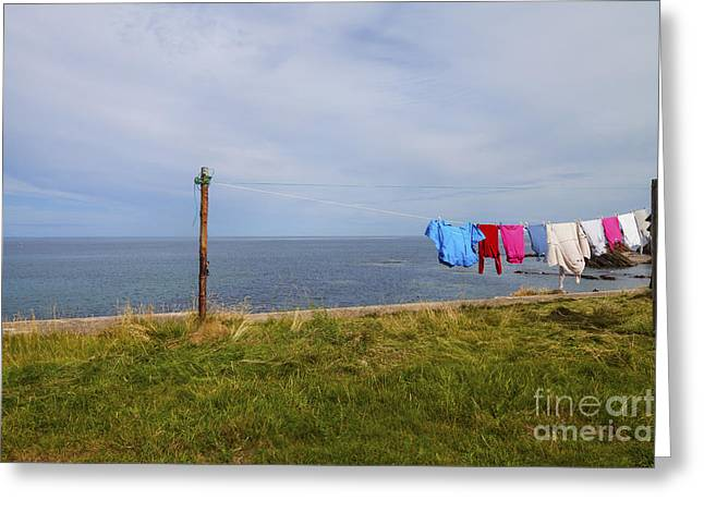 Washing Day Greeting Card