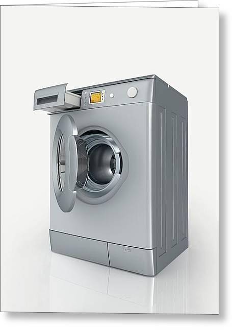 Washing Machine Greeting Card by Dorling Kindersley/uig