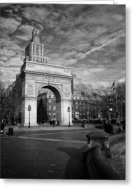 Washington Arch Greeting Card