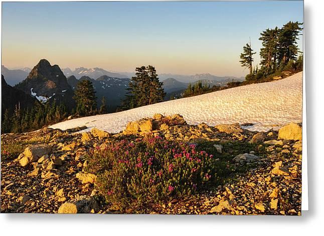 Washington, Cascade Mountains, Mount Greeting Card