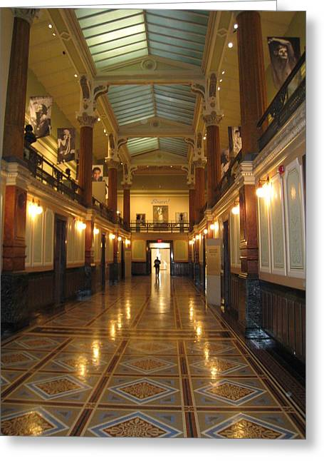 Washington Dc - National Portrait Gallery - 121210 Greeting Card by DC Photographer