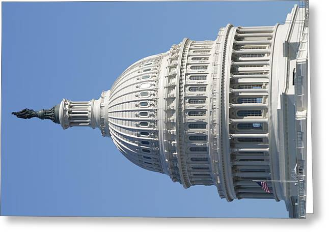 Washington Dc - Us Capitol - 011310 Greeting Card by DC Photographer