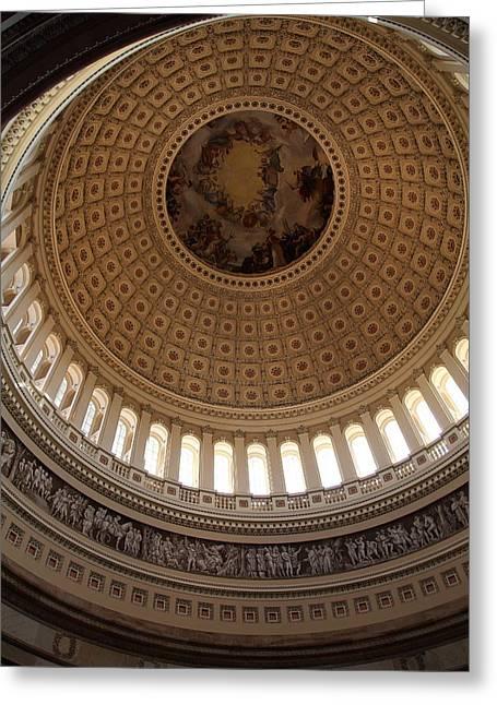 Washington Dc - Us Capitol - 011314 Greeting Card