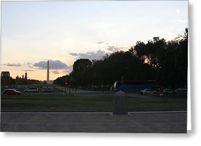 Washington Dc - Washington Monument - 01133 Greeting Card