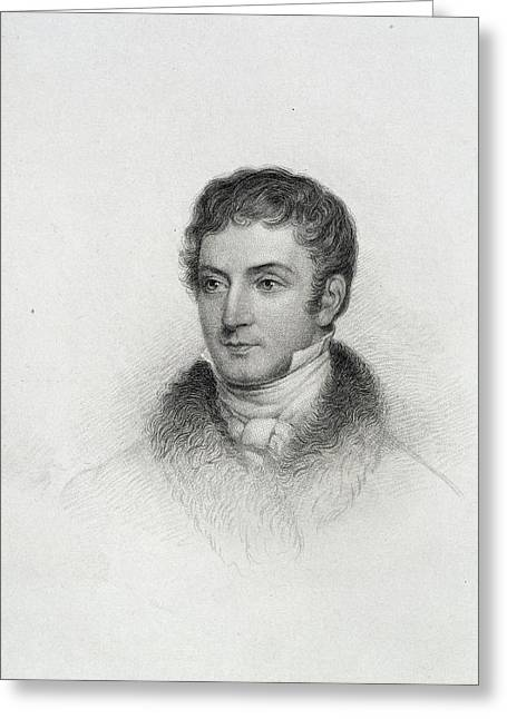 Washington Irving Greeting Card by British Library