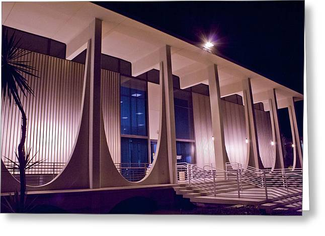 Washington Mutual Building Palm Springs Greeting Card