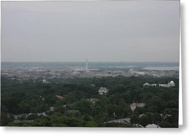 Washington National Cathedral - Washington Dc - 0113109 Greeting Card by DC Photographer