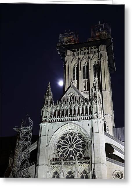 Washington National Cathedral - Washington Dc - 0113113 Greeting Card by DC Photographer