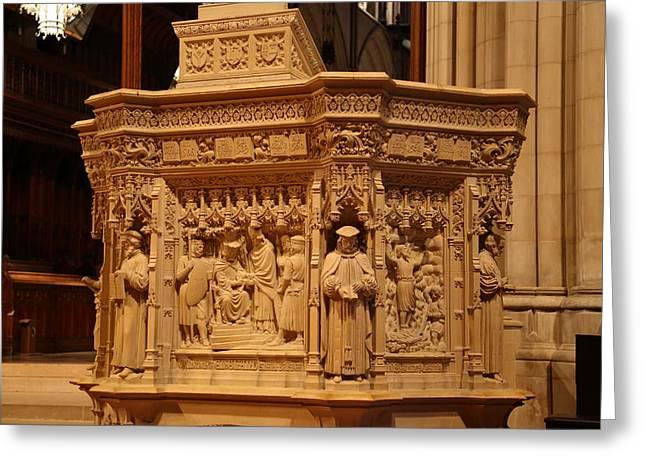 Washington National Cathedral - Washington Dc - 011333 Greeting Card by DC Photographer