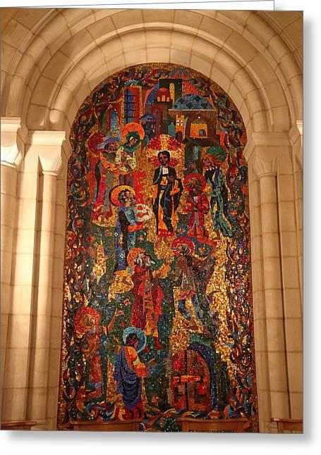 Washington National Cathedral - Washington Dc - 011338 Greeting Card by DC Photographer