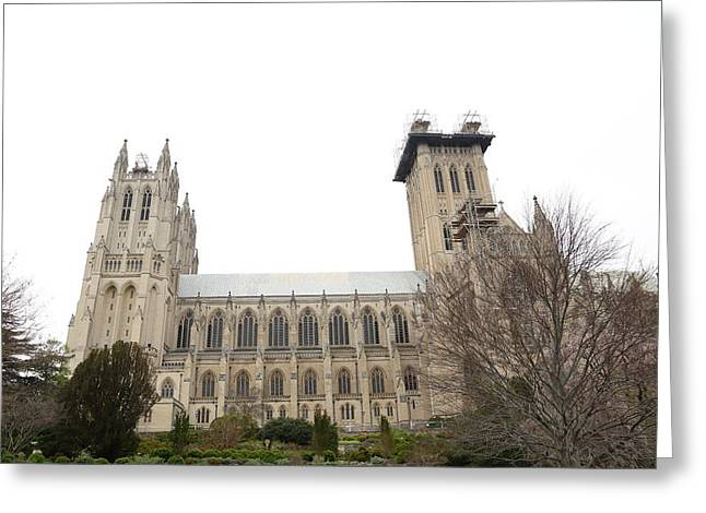Washington National Cathedral - Washington Dc - 011346 Greeting Card