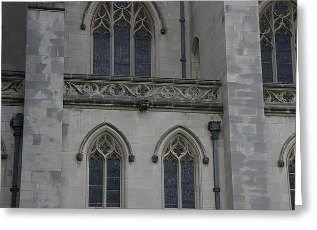 Washington National Cathedral - Washington Dc - 011358 Greeting Card by DC Photographer