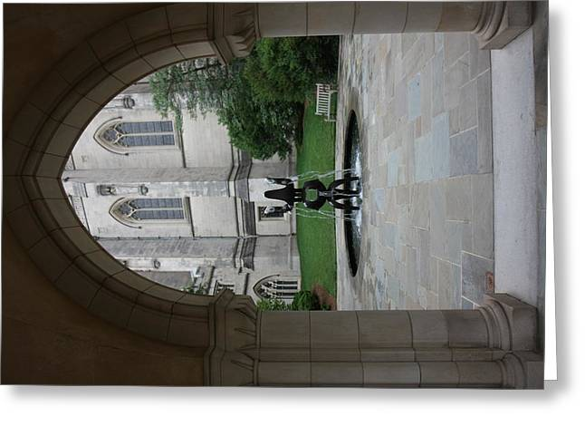 Washington National Cathedral - Washington Dc - 011359 Greeting Card by DC Photographer