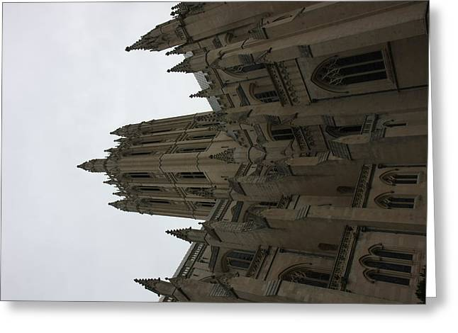 Washington National Cathedral - Washington Dc - 011368 Greeting Card by DC Photographer