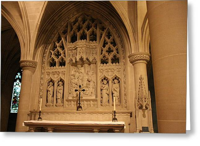Washington National Cathedral - Washington Dc - 011373 Greeting Card by DC Photographer