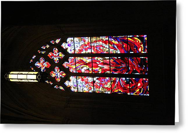 Washington National Cathedral - Washington Dc - 011377 Greeting Card by DC Photographer