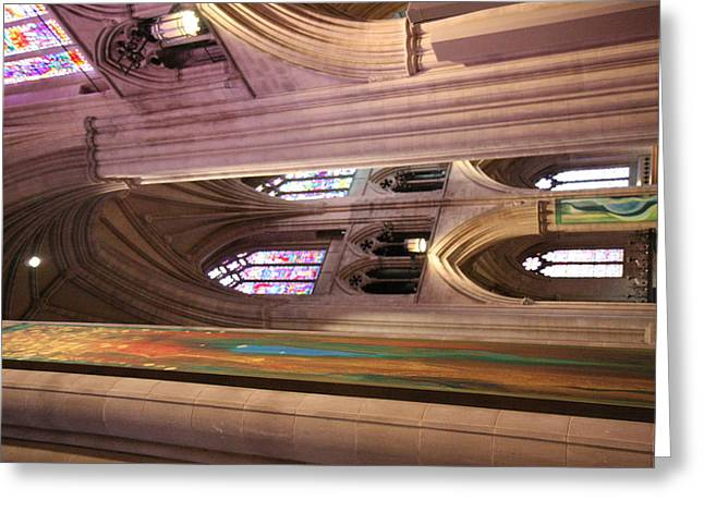 Washington National Cathedral - Washington Dc - 011382 Greeting Card by DC Photographer