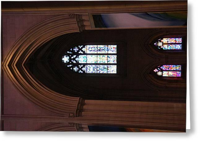 Washington National Cathedral - Washington Dc - 011387 Greeting Card by DC Photographer