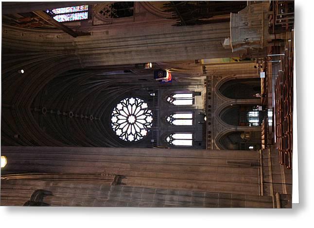 Washington National Cathedral - Washington Dc - 011390 Greeting Card by DC Photographer