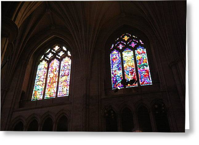 Washington National Cathedral - Washington Dc - 011394 Greeting Card by DC Photographer