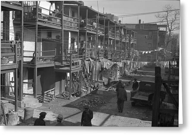 Washington Slum, 1935 Greeting Card by Granger