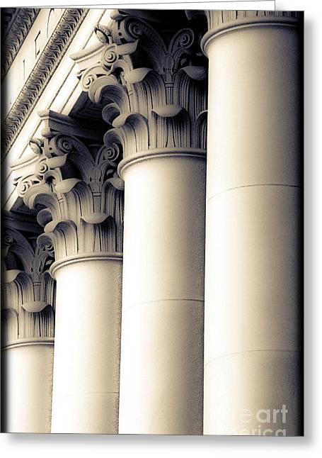 Washington State Capitol Columns Greeting Card