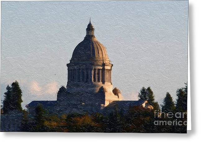 Washington State Capitol II Greeting Card