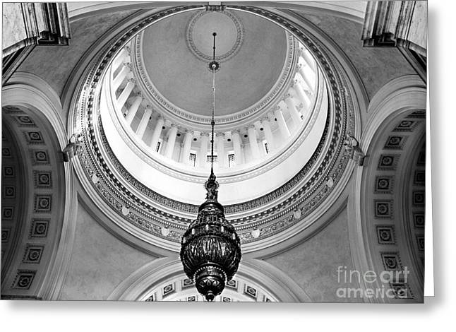 Washington State Capitol Rotunda Greeting Card