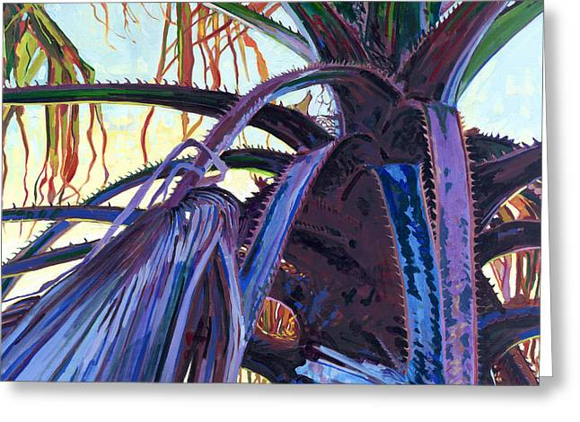 Washingtonia Greeting Card by David Randall