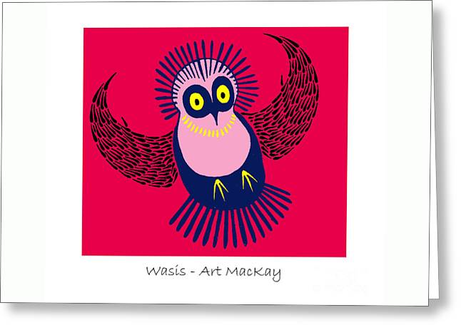 Wasis Greeting Card