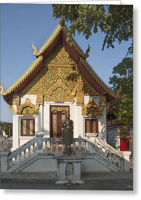 Wat Muen Larn Phra Ubosot  Dthcm0277 Greeting Card by Gerry Gantt