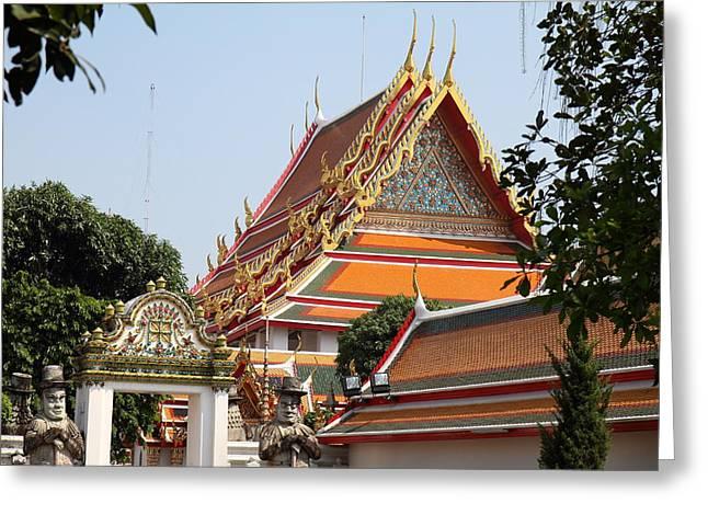 Wat Pho - Bangkok Thailand - 01132 Greeting Card