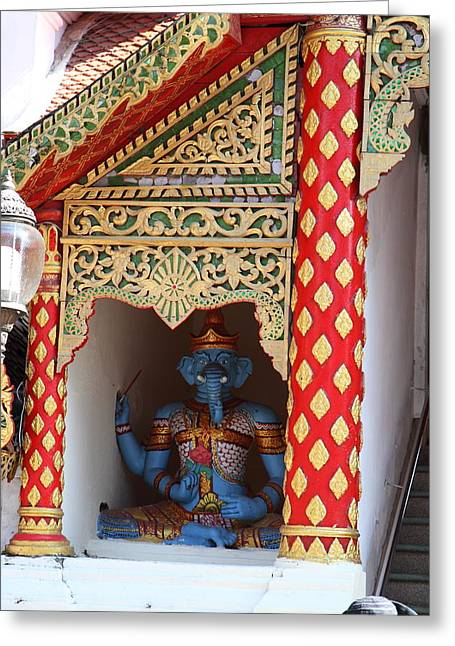 Wat Phrathat Doi Suthep - Chiang Mai Thailand - 011311 Greeting Card by DC Photographer